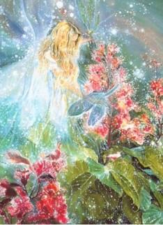 angeles y flores